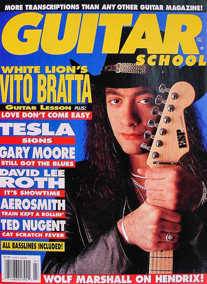 Guitar School Vol. 3 No. 4