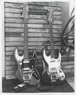 Guitars Vintage Print