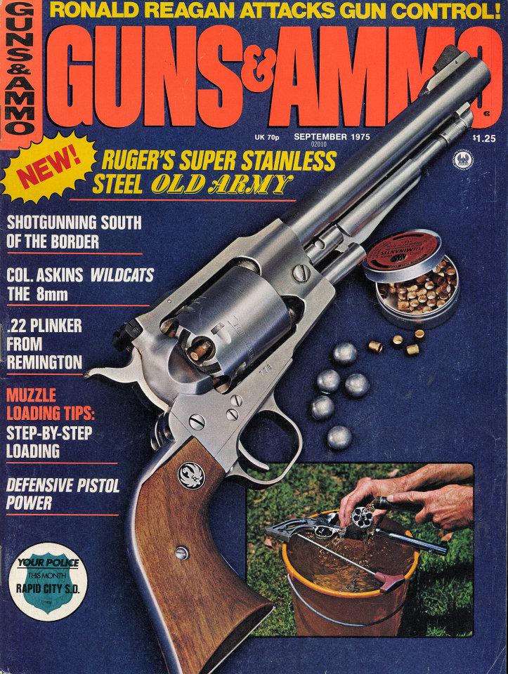 Guns & Ammo Vol  19 No  9 Magazine, Sep 1, 1975 at Wolfgang's