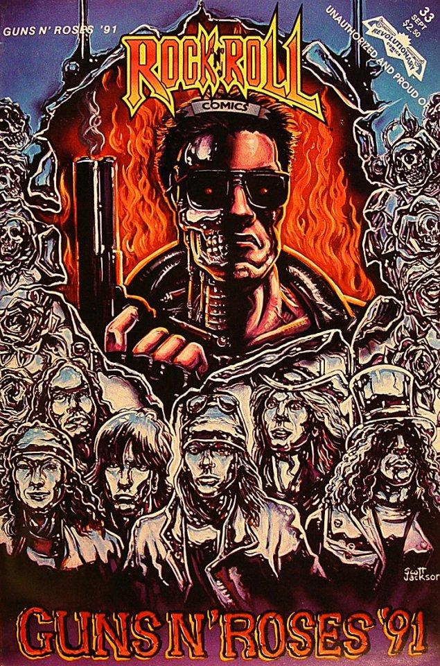 Guns N' Roses Comic Book