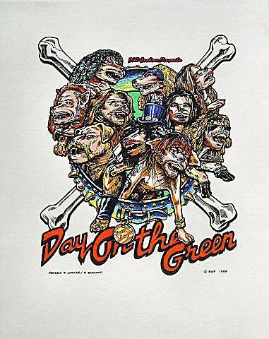 Guns N' Roses Pelon