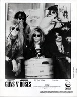 Guns N' Roses Promo Print