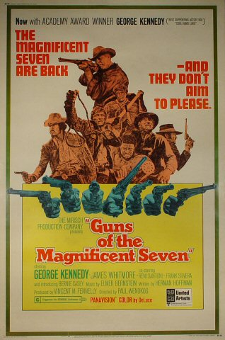 Guns of the Magnificent Seven Poster