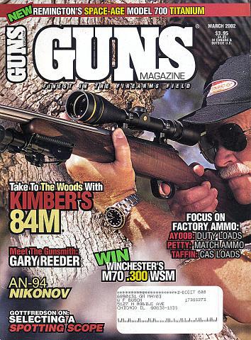 Guns Vol. 48 No. 03-567 Magazine