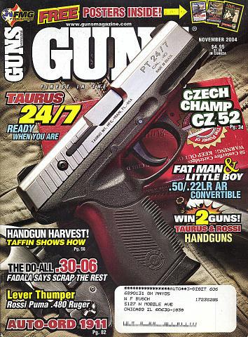 Guns Vol. 50 No. 11-599 Magazine
