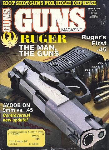 Guns Vol. XXXVIII No. 3-447 Magazine