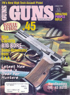 Guns Vol. XXXVIII No. 8 - 452 Magazine