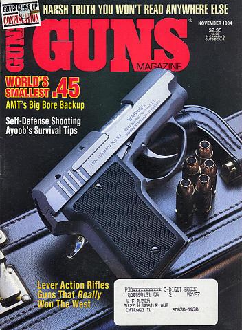Guns Vol. XXXX No. 11-479 Magazine