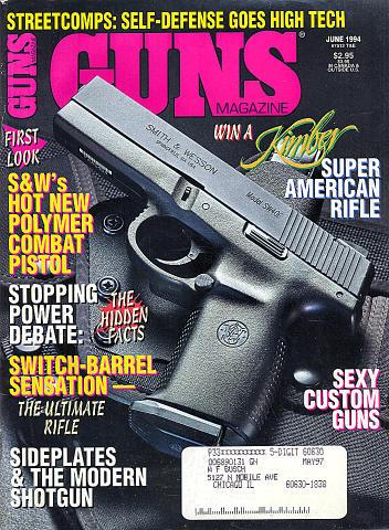 Guns Vol. XXXX No. 6-474 Magazine
