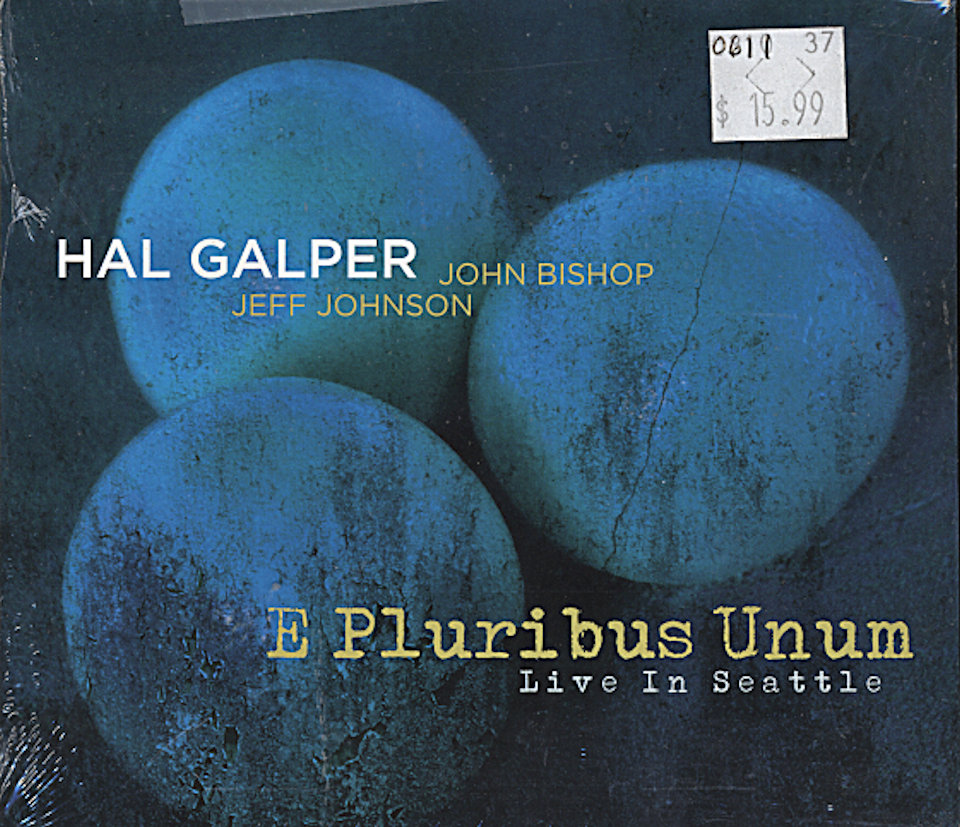 Hal Galper CD