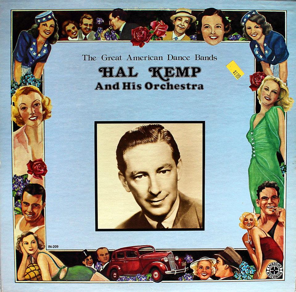 "Hal Kemp & His Orchestra Vinyl 12"" (New)"