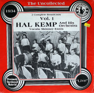 "Hal Kemp & His Orchestra Vinyl 12"" (New)"