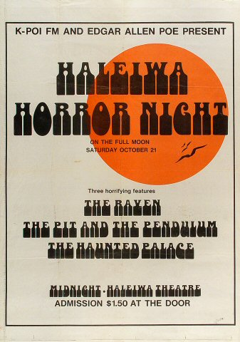 Haleiwa Horror Night Poster