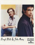 Hall & Oates Promo Print