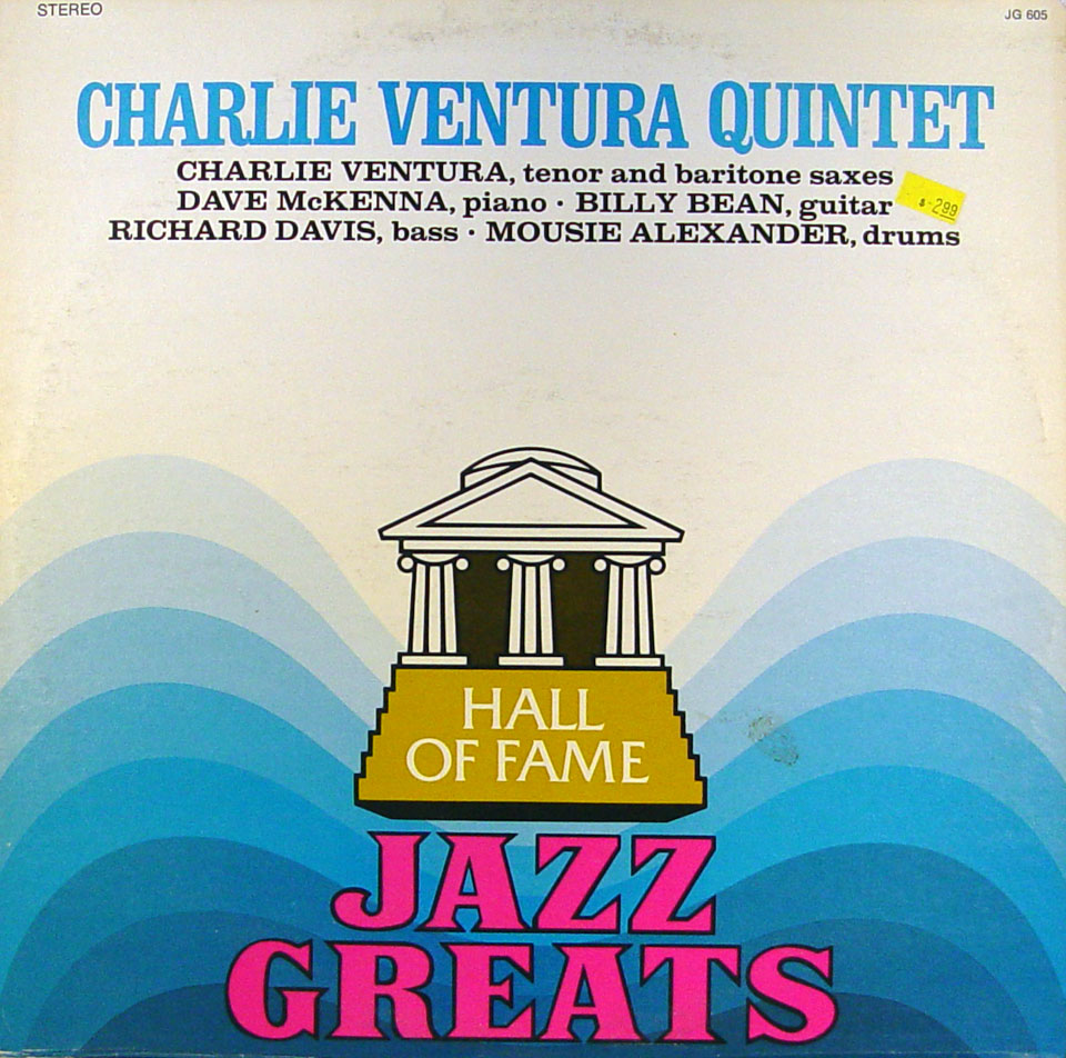 """Hall Of Fame Jazz Greats Vinyl 12"""" (Used)"""