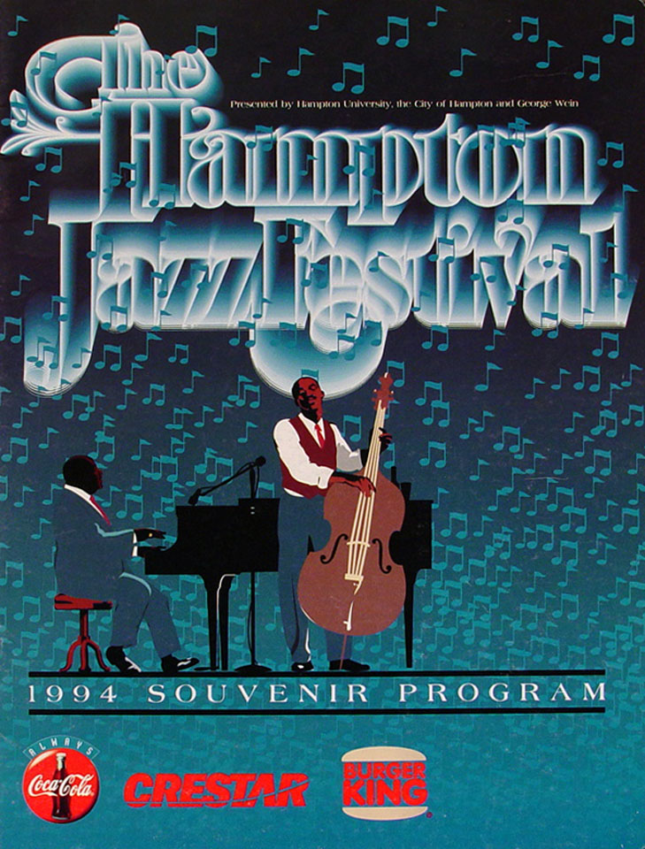 Hampton Jazz Festival Program