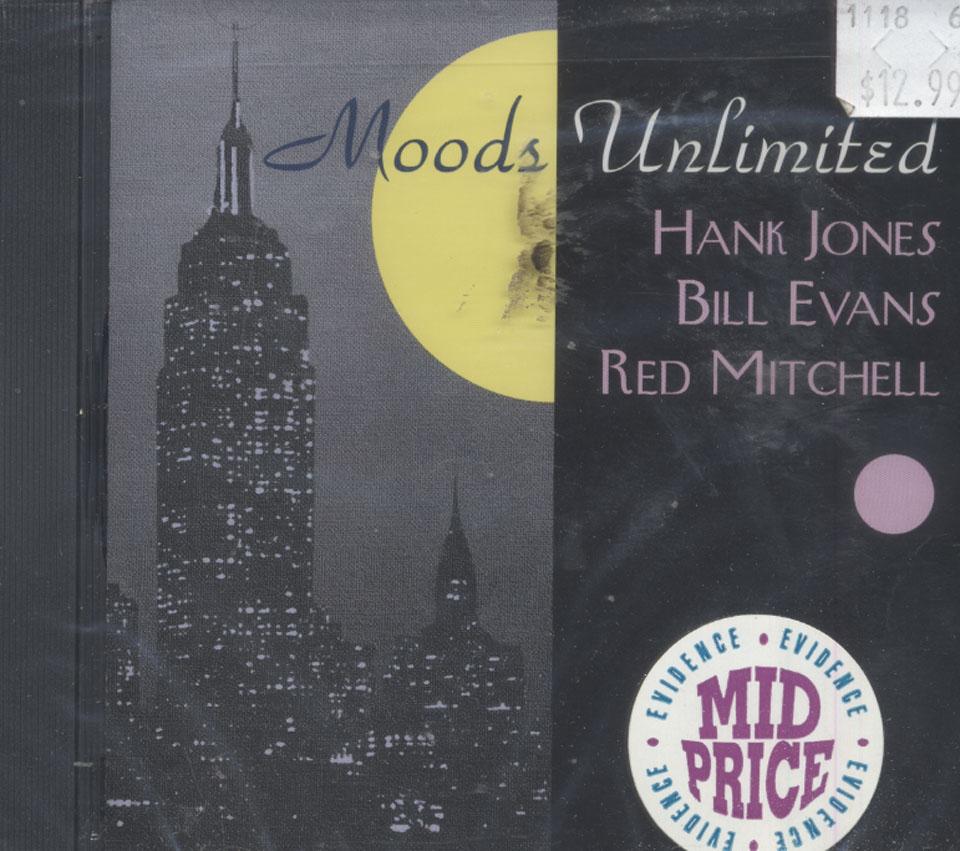 Hank Jones, Bill Evans, Red Mitchell CD