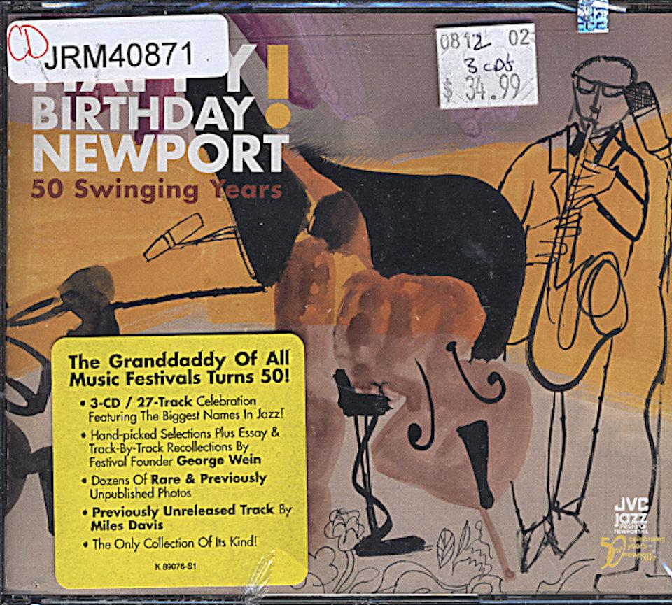 Happy Birthday Newport! 50 Swinging Years CD