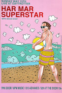 Har Mar Superstar Poster