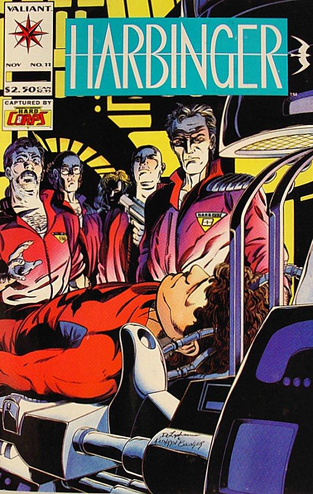 Harbinger Comic Book