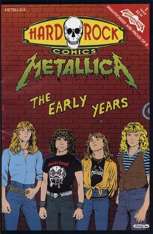 Hard Rock Comics, Issue 1 Comic Book