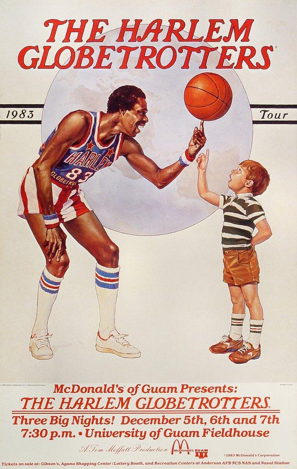 Harlem Globetrotters Poster