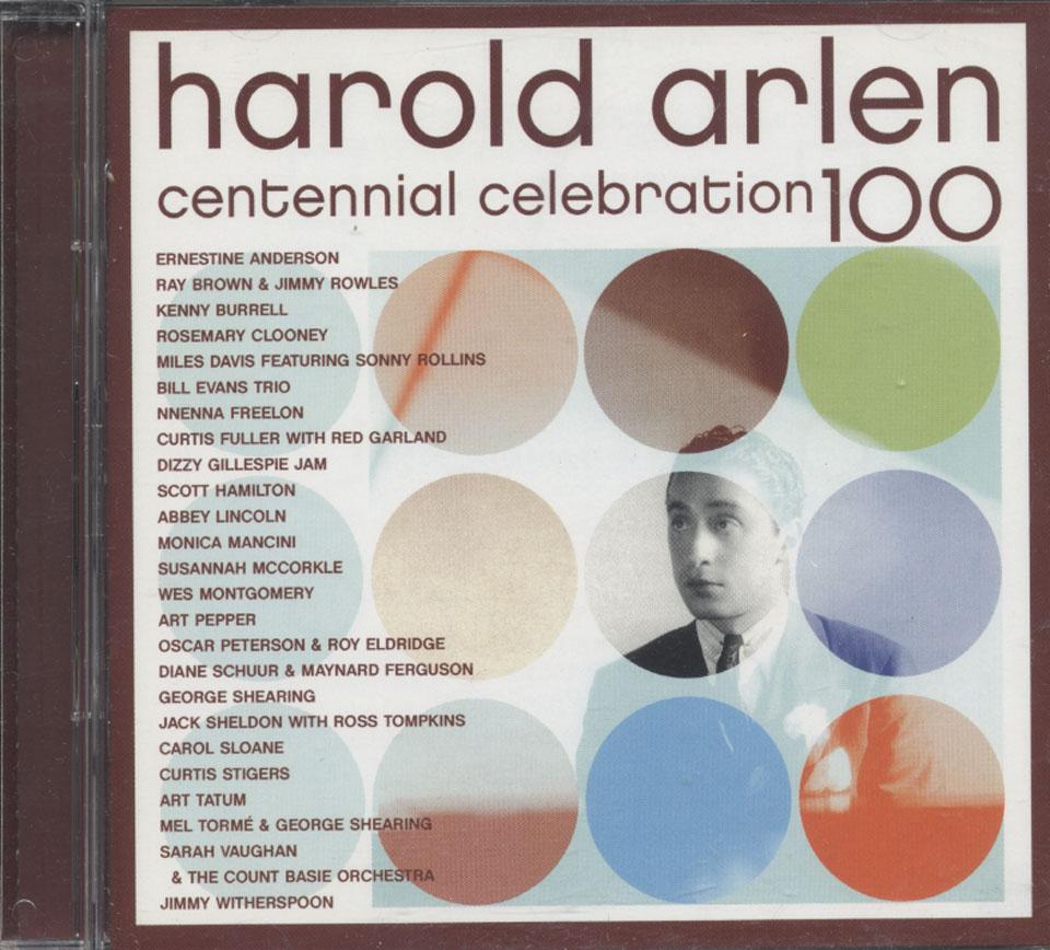 Harold Arlen Centennial Celebration CD