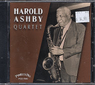 Harold Ashby Quartet CD