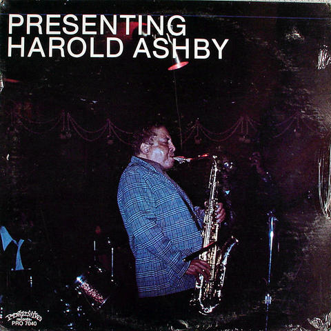 "Harold Ashby Vinyl 12"" (New)"