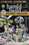 "Harold Hedd ""Hitler's Cocaine"" #1 Comic Book"