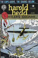 "Harold Hedd ""Hitler's Cocaine"" #2 Comic Book"