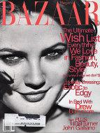 Harper's Bazaar December 1996 Magazine