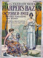 Harper's Bazaar October 1902 Magazine