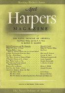 Harper's Magazine April 1941 Magazine