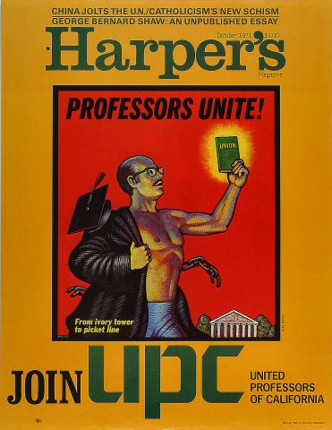Harper's Magazine Poster