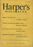 Harper's May 1,1946 Magazine