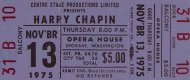 Harry Chapin Vintage Ticket