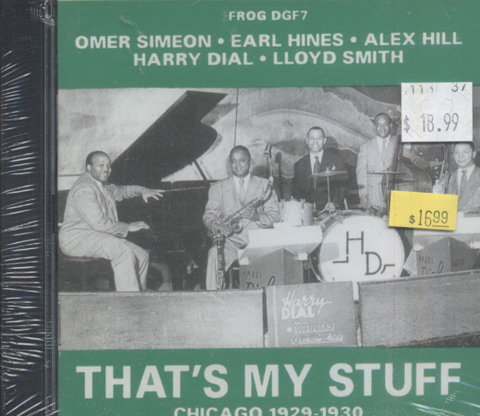 Harry Dial's Blusicians CD