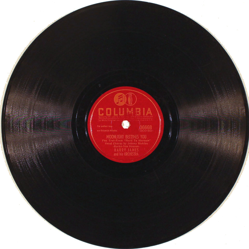 """Harry James & His Orchestra Vinyl 10"""" (Used)"""
