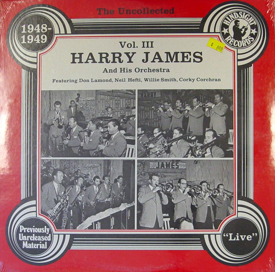 "Harry James & His Orchestra Vinyl 12"" (New)"