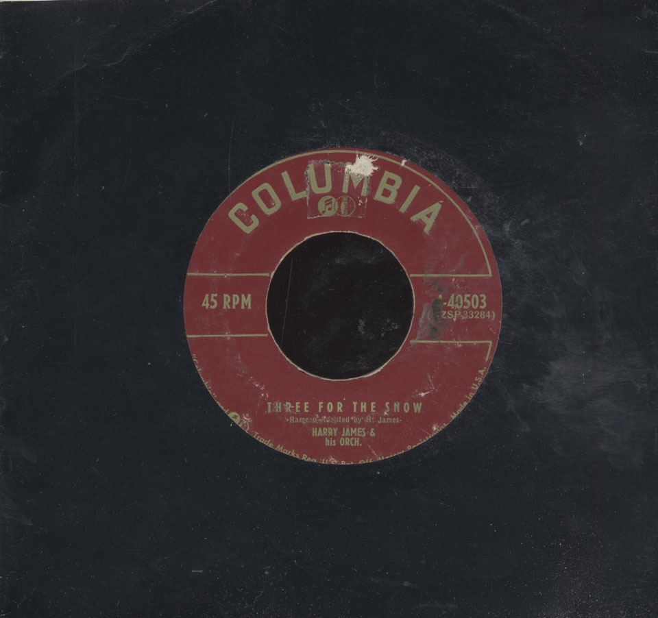 "Harry James & His Orchestra Vinyl 7"" (Used)"