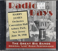 Harry James' Orchestra CD