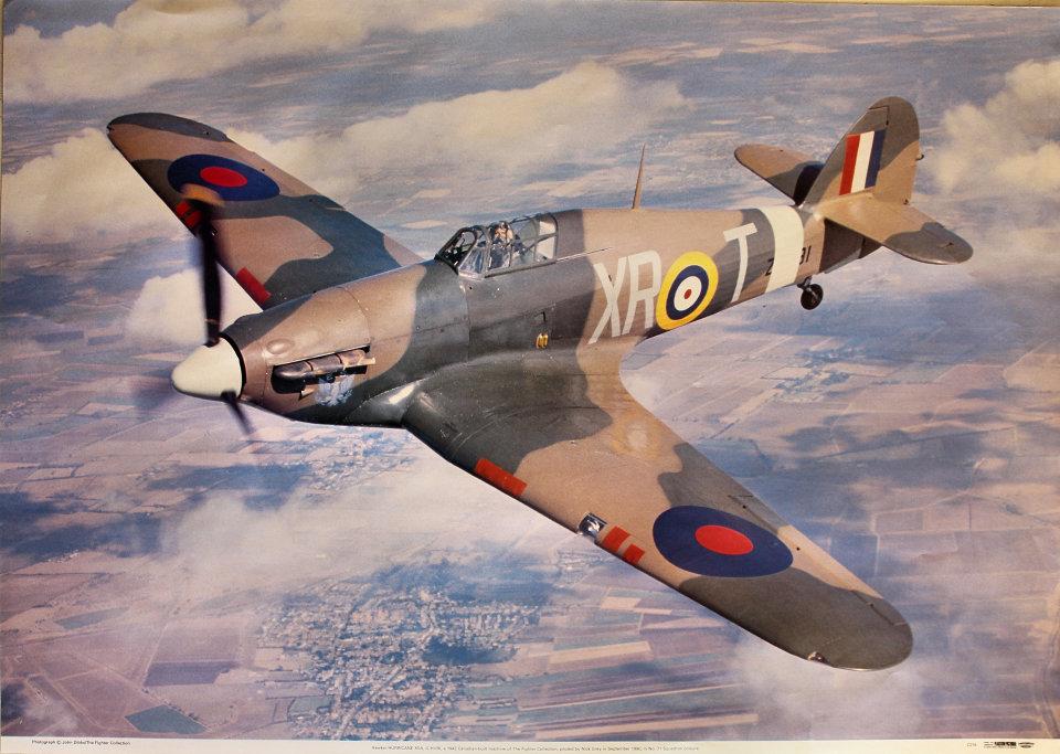 Hawker Hurricane XIIA, G-HURI Poster