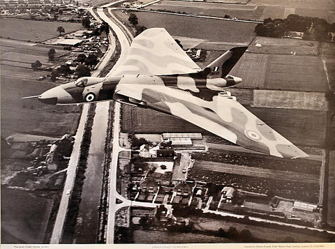 Hawker Siddeley Vulcan Poster