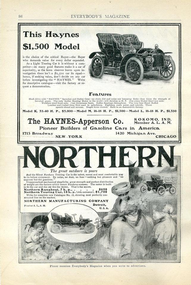 Haynes / Northern Vintage Ad