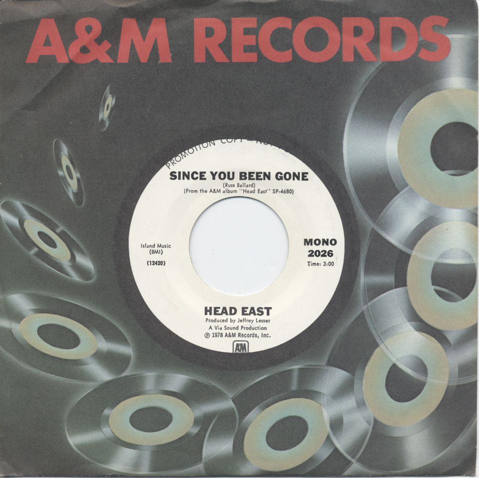 """Head East Vinyl 7"""" (Used)"""