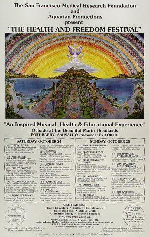 Health and Freedom Festival Poster