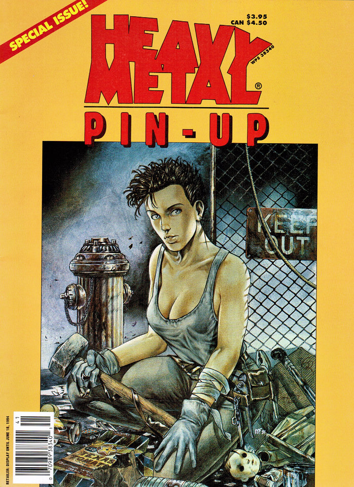 Heavy Metal Pin-Up