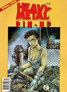 Heavy Metal Pin-Up Magazine