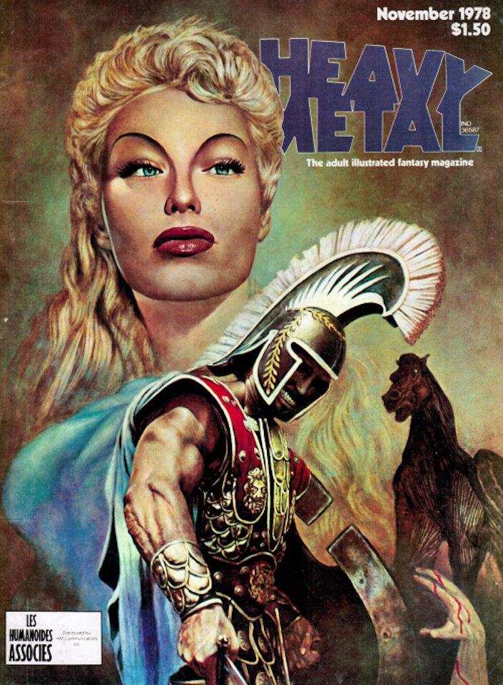 Heavy Metal Vol. 11 No. 7